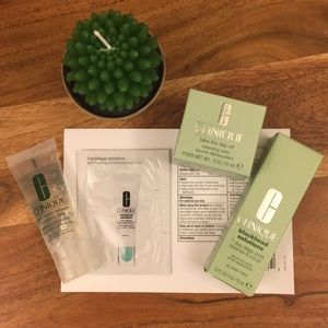 🌸Clinique Discover Clear Skin Deluxe Sample Set